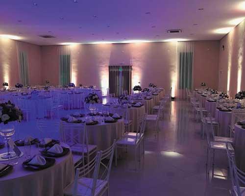 Iluminação Cênica em festas de casamento