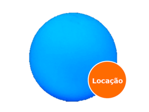 Móveis Led - Puffs, Mesas, Esferas, Poltronas, Balcões 5 esfera led locacao 400x300