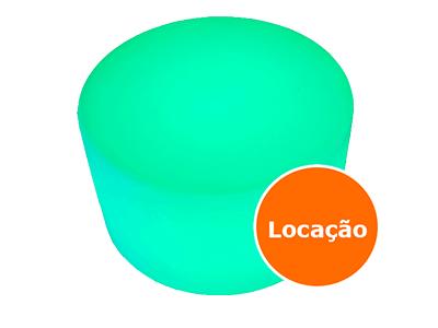 Mesa Baixa de led - 70cm - LOCAÇÃO 1 mesa baixa de led locacao