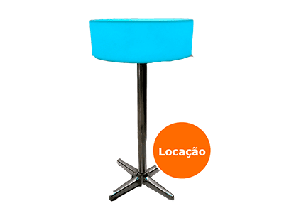 Locação de Mesa Neon para festas 4 mesa bistro de led pe aluminio locacao 400x300
