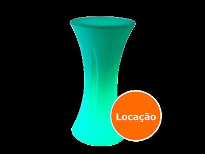 Locação de Mesa Neon para festas 8 mesa bistro de led redonda locacao 400x300