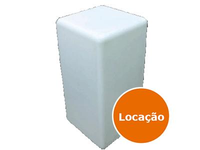 Mesa Bistrô de led quadrada - LOCAÇÃO 1