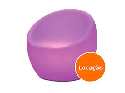 Poltrona de led - OCA - LOCAÇÃO 1 poltrona led locacao