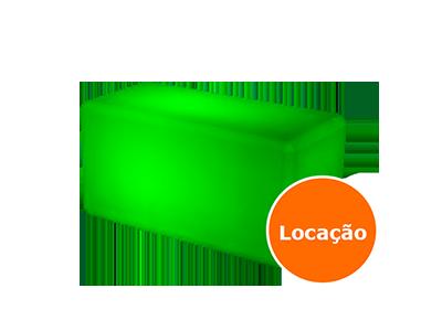 Móveis Led - Puffs, Mesas, Esferas, Poltronas, Balcões 9 puff duplo led locacao 400x300 2