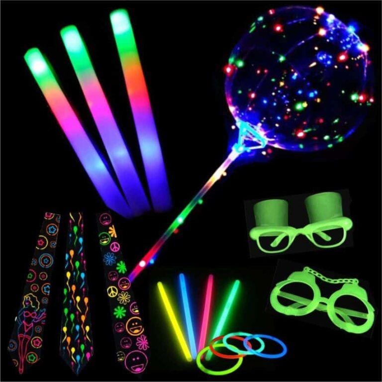 Como fazer uma festa com tema Neon? 1 lembrancinhas neon