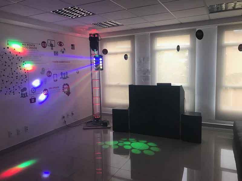KIT 2 , Dj, som e iluminação (90 pessoas) - LOCAÇÃO 2