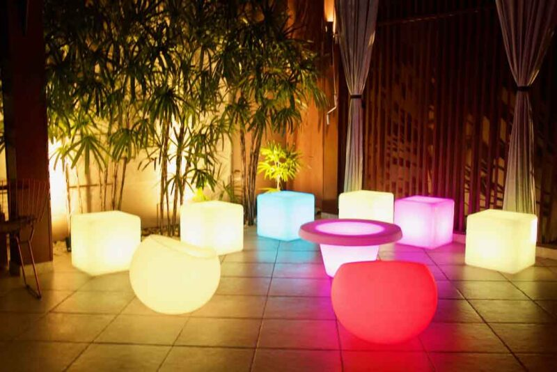 Lounge Iluminado