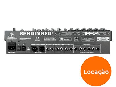 Mesa de som Behringer 14 XENY X1832USB - LOCAÇÃO 3 8215224686 mesa de som 1832usb 2