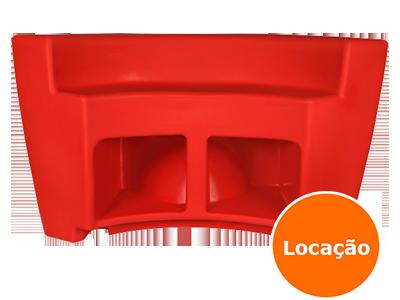 Balcão de Led - Curvo - Locação 3