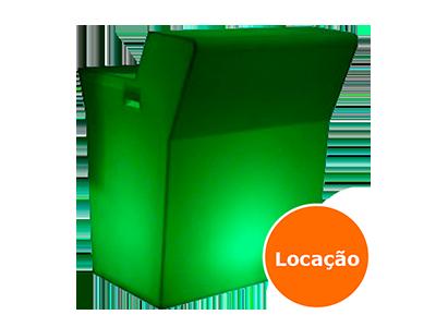 Balcão Iluminado 1 balcao led reto locacao 400x300 1