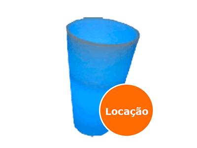 Champanheira de led - Locação 1 champanheira de led cone 2