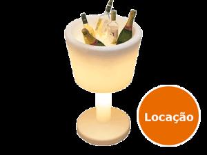 Móveis Led - Puffs, Mesas, Esferas, Poltronas, Balcões 7 champanheira led taca