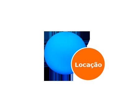 Esferas de Led de 35 cm para piscina  - Locação 1