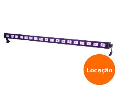 Ribalta UV 18 leds - Locação 1 ribalta uv 18 leds