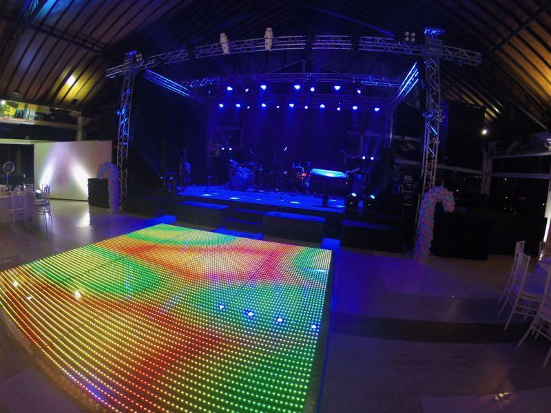 Pista de LED 4m x 6m - Locação 1
