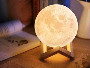Esferas de led 6 esferas de led lua
