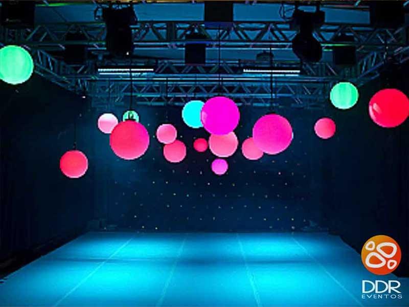 Esferas de led 3 esferas de led motorizada