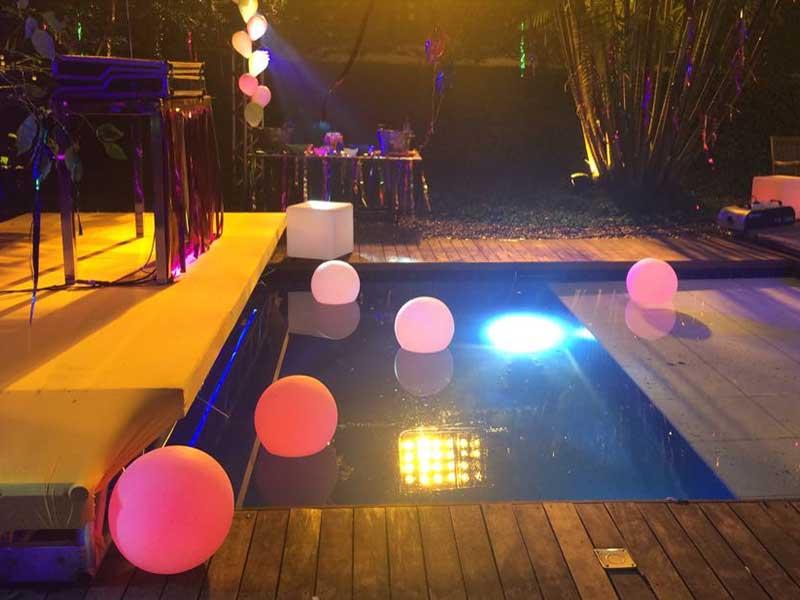Bola Iluminadao para piscina