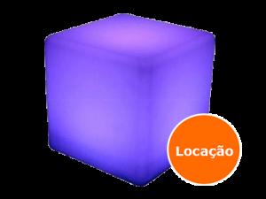 Móveis Led - Puffs, Mesas, Esferas, Poltronas, Balcões 2 puff de led quadrado 400x300 1