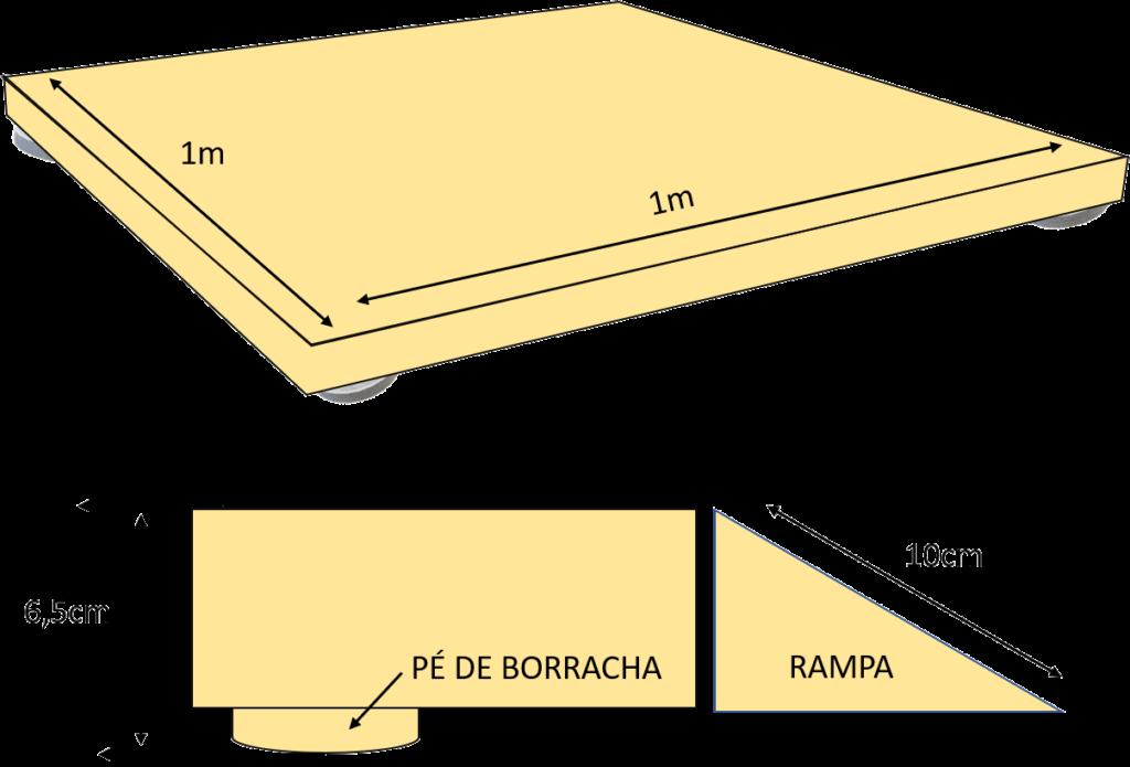 Pista de led, gráfica e Paris 3 medidas pista de led 1