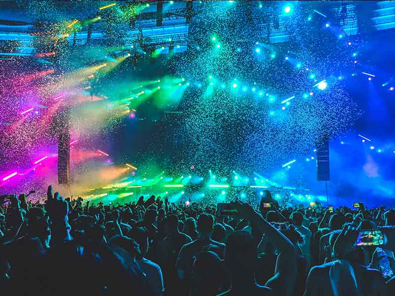 Iluminação para Pista de Dança